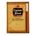 Cigarrilha Captain Black Dark Crema Com Piteira cx c/8