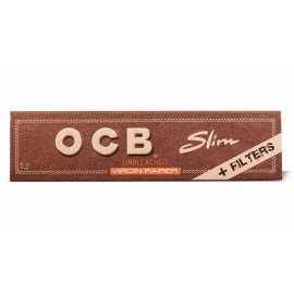 Seda OCB Brown King Size + Piteira de Papel