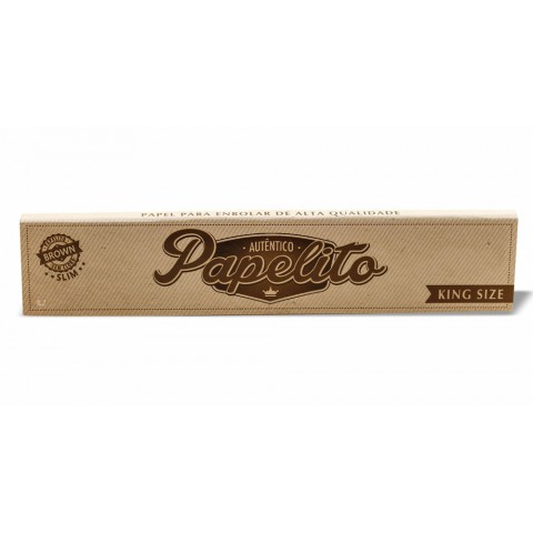 Seda Papelito Brown King Size - Slim