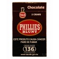 Charuto Phillies Blunt Chocolate - caixa C/05
