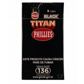Charuto Phillies Titan Black - caixa C/05