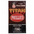 Charuto Phillies Titan Chocolate - caixa C/05
