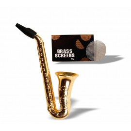 Pipe Saxofone - Metal Ref: 2023