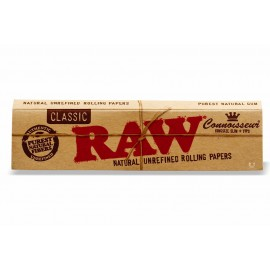 Seda Raw Classic King Size com Piteira