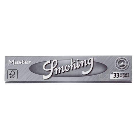 Seda Smoking Master King Size Prata - Slim