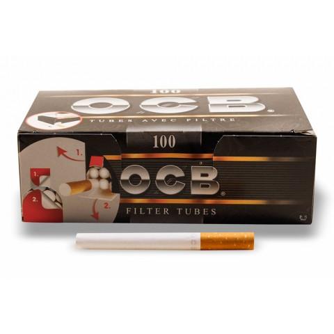 Tubo para Cigarro OCB com filtro  - Caixa c/ 100