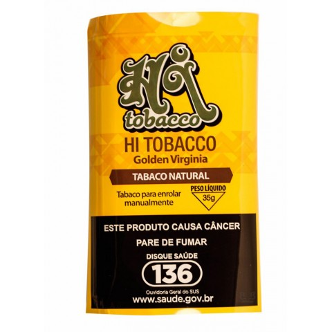 Tabaco/Fumo Hi Tobacco Golden Virginia - Para Cigarro