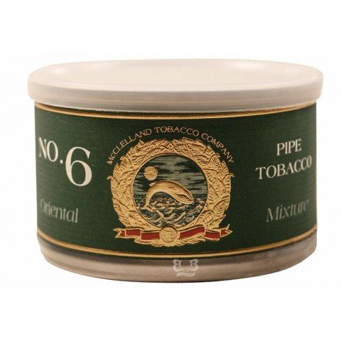 Tabaco/Fumo McClelland Oriental Mixture No.6